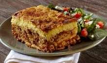 Pastitsio, a delicious baked pasta