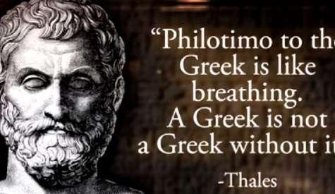 Filotimo: The untraslatable unique Greek virtue